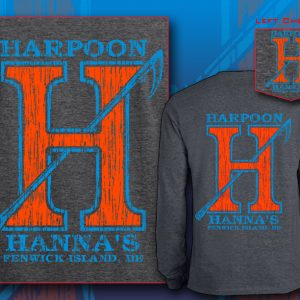 Harpoon Hannas Long Sleeve Dark Heather Orange